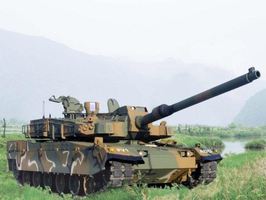 图文:韩国新一代XK-2主战坦克样车