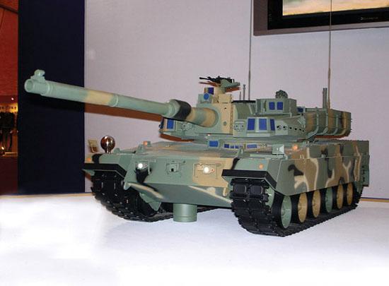 图文:韩国新一代XK-2主战坦克模型
