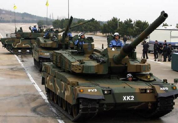 韩国瞄准世界军火市场希望拥有出口型军工产业