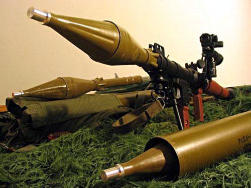 图文:RPG火箭筒是城市战中坦克装甲车辆的克