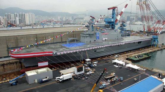 韩国出售独岛级两栖攻击舰给马来西亚(组图)