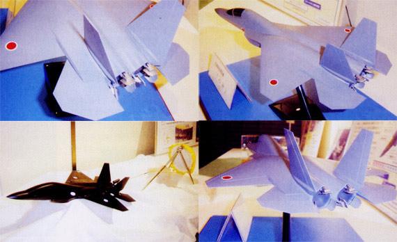 图文:日本心神先进技术验证机模型细节特写