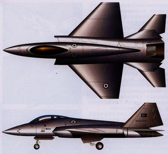 图文:土耳其的四代机XTSF方案