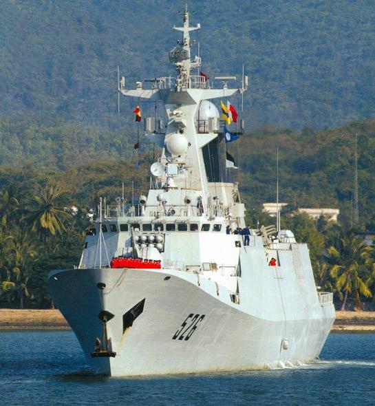 中国海军最新型江凯级护卫舰战技性能分析(图)