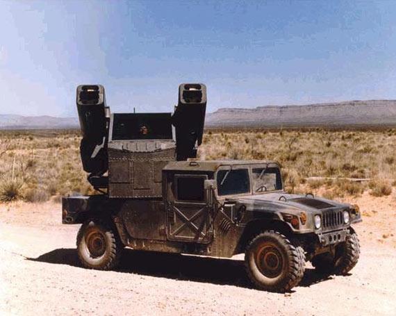 海湾战争结束后美军推出新型悍马基准车(图)