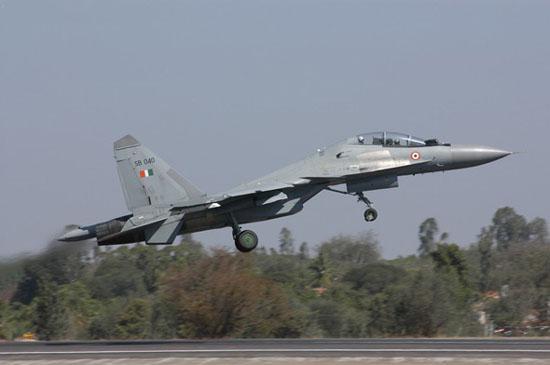 图文:印度空军装备的俄制苏-30MKI战斗机