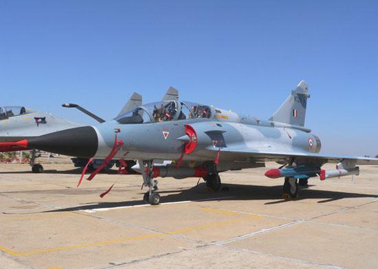图文:印度空军幻影-2000H战斗机