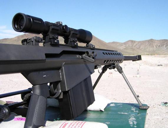 大口径狙击步枪的作战运用(图)