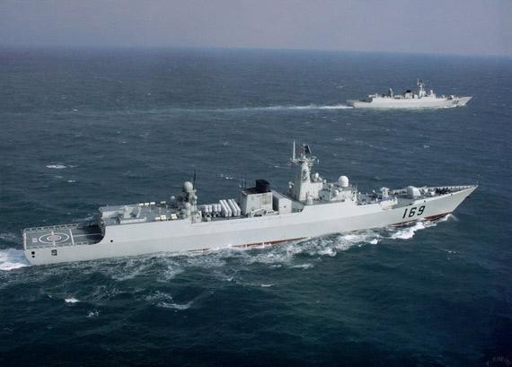 图文:解放军海军实力近年大有进步