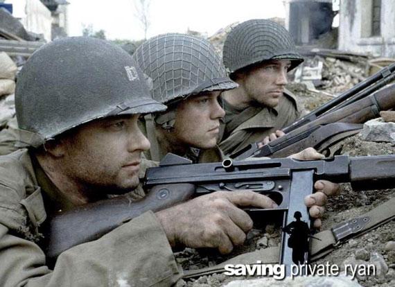 电影背后的二战美国游骑兵(图)