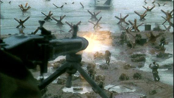 图文:导演重现诺曼底登陆中的惨烈一面