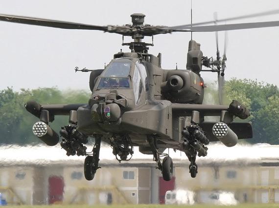 ah64阿帕奇武装直升机;; 阿帕奇反坦克武装直升机13; 美军陆军ah64