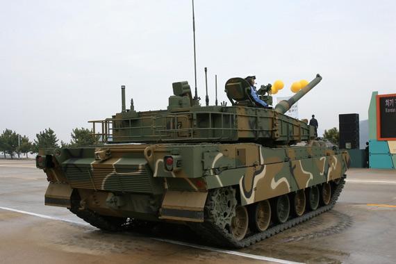 韩国XK2主战坦克推进系统与防护系统点评(图)