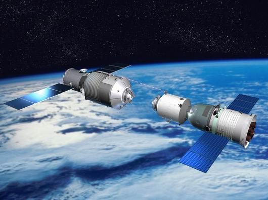 美渲染中国将大规模杀伤武器部署到太空(组图)