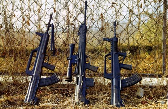中国95式枪族杀伤力远优于美俄制式步枪(组图)