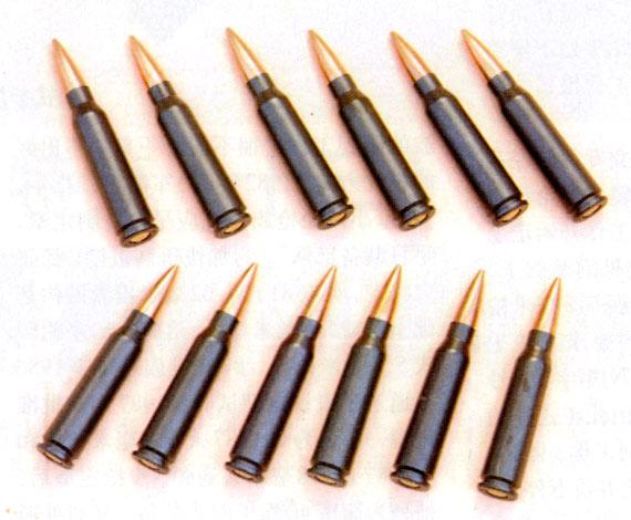 图文:国产5.8毫米普通弹