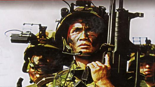 中国特种兵已在世界特种部队中占有重要一席