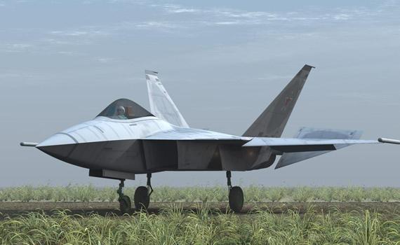 俄第五代战机将由苏霍伊公司研制生产(组图)