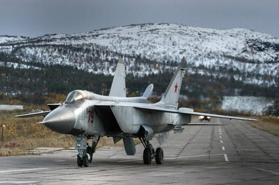 俄改进型米格-31歼击机将成为第五代战机(图)