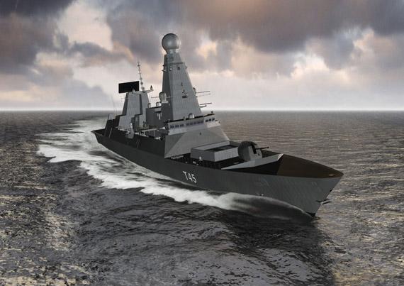 两型战舰对陆攻击武器系统(图)