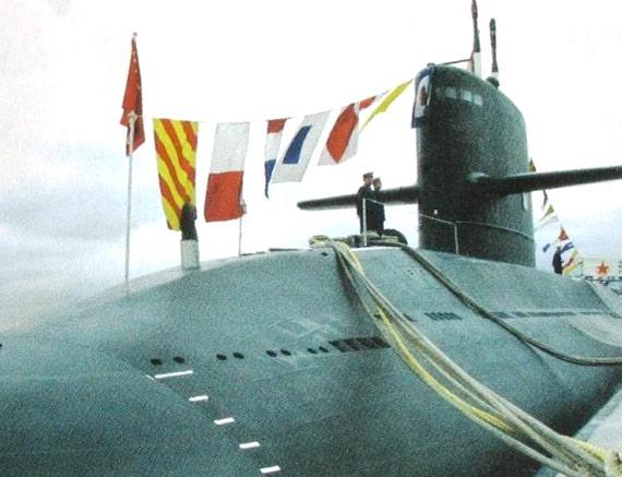 西方称中国元级潜艇攻击距离可达1200公里(图)