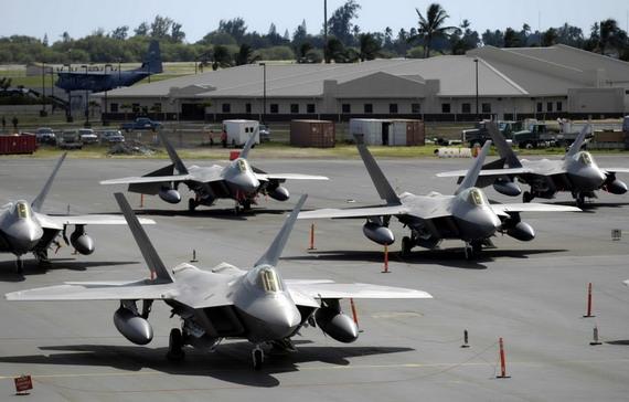 日本欲购百架F-22美称可改变台海军力平衡