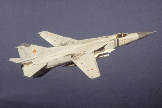 米格-25是中东战争中最新最先进的米格战机