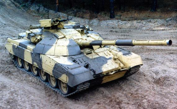 前苏联T-72基本型主战坦克技术特点(图)