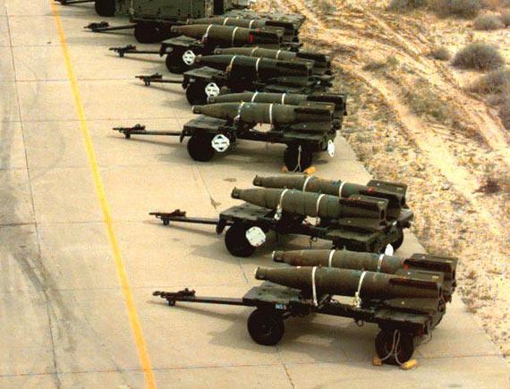 以色列斥资6500万美元采购MK-84通用炸弹(图)