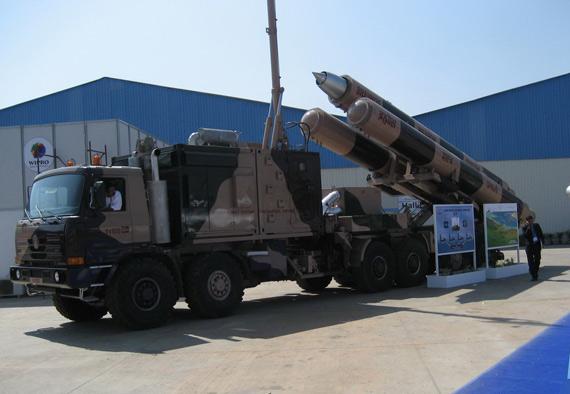 印度计划五月试射潜基型布拉莫斯巡航导弹(图)