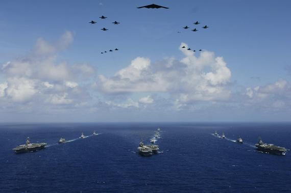 打造全球联合舰队:美国千舰海军计划揭秘(图)