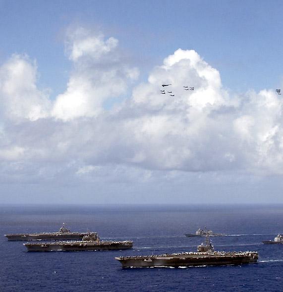 海上跨国威胁也越来越受到各国的广泛重视(图)