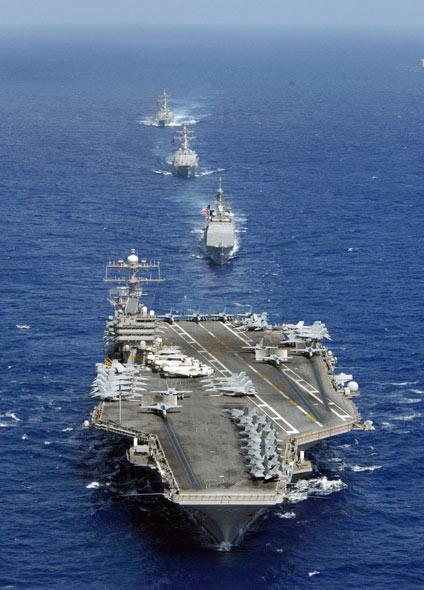 """美国海军""""千舰海军""""计划最终目标(图)"""