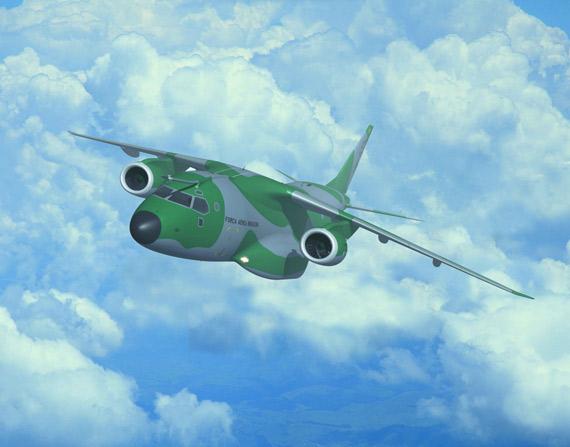 巴西研制C-390军用运输机与美制C-130竞争(图)