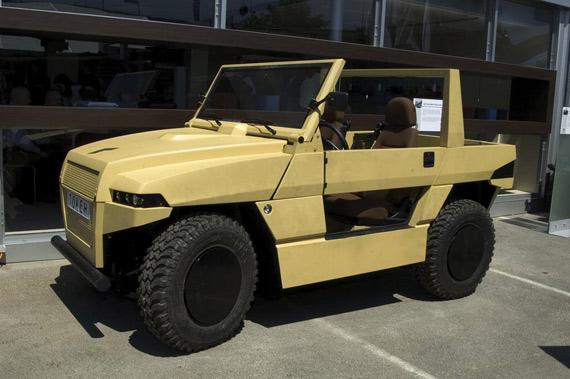 图文:德国最新型Tokeh轻型战术车全貌特写