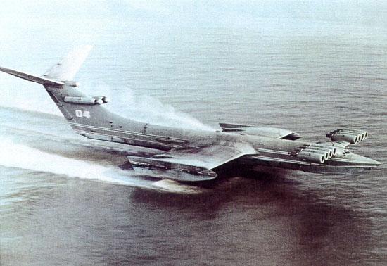 图文:俄罗斯里海怪物是重型地效飞行器的始祖