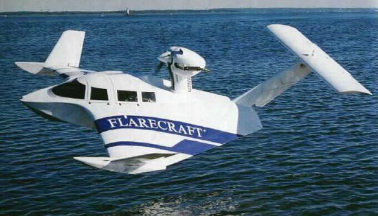 图文:美国海军陆战队L-325地效飞行器进行试验