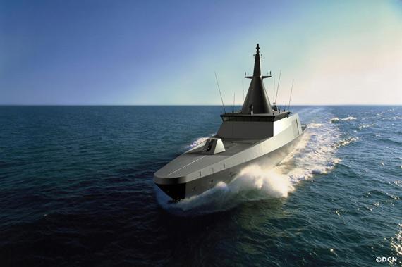 法制追风轻护卫舰武器装备及动力系统介绍(图)