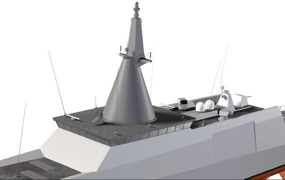 图文:追风系列集成桅杆可有效缓解电磁干扰