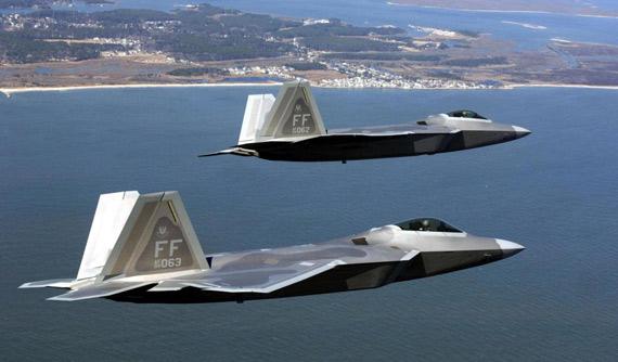 日本将购100架F-22俄韩被迫出招应对(组图)
