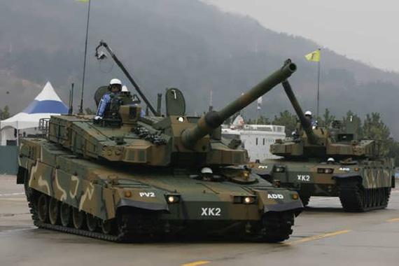 韩国正在试图向土耳其出售新型XK-2坦克等武器