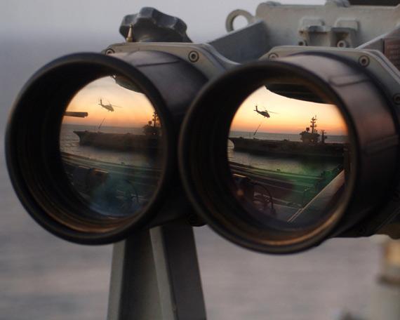 以色列官员:美国海空军将担任攻击伊朗先锋(图)