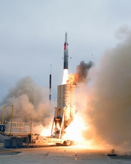 图文:以色列箭-2导弹可以攻击伊朗