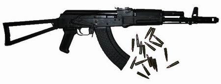 俄罗斯izhmash ak-100系列突击步枪(二)(组图)