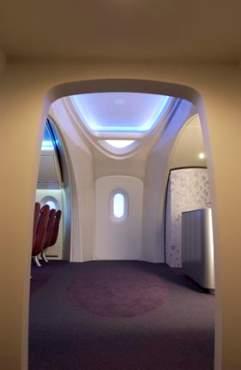波音7e7梦想飞机 客舱内饰饰设计以人为本(组图)