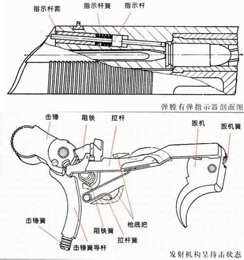 玩具手枪构造图