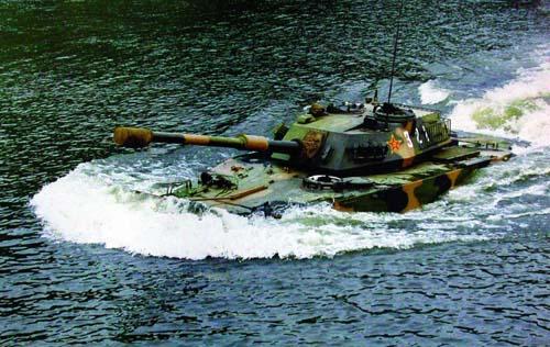 05式水陆坦克换装800马力发动机,速度是多少?如果把主