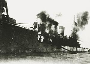 老舰的苦命生涯:日本天龙级轻巡洋舰(组图)上