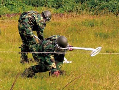 中国军队维和英姿-红星蓝盔在非洲(组图)