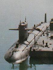 中国海军汉级核动力攻击潜艇